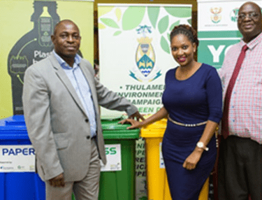 Safripol is proud to support the first of its kind recycling project launched in Limpopo